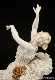 "Анна Павлова в балете ""Бабочка"", Volkstedt, Германия, до 1935 г., артикул 00830"