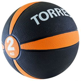 Медбол (медицинбол) Torres 2 кг.