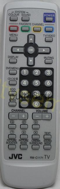 Пульт ДУ JVC RMC-1171 TV
