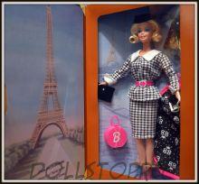 Коллекционная кукла Барби Путешествие в Париж - Barbie Doll Travel International Paris