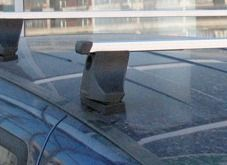 Багажник на крышу Fiat Doblo, Атлант, прямоугольные дуги