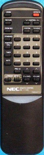 Пульт ДУ NEC RD-1110
