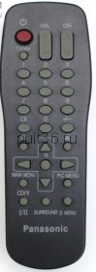 Пульт ДУ Panasonic EUR 501390