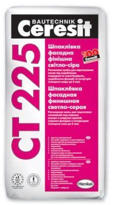 Ceresit CT 225 - Фасадная финишная шпатлевка (25 кг)