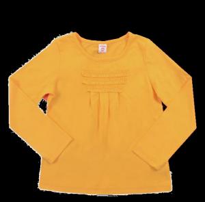 Желтая блуза для девочки Optop