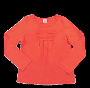 Красная блуза для девочки Милана