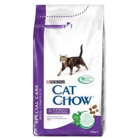 CAT CHOW SPECIAL CARE HAIRBALL CONTROL сухой 15 кг для кошек Контроль Шерсти