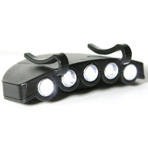 Фонарь на кепку Cap light 5 led