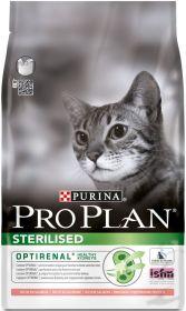 PRO PLAN STERILISED сухой 10кг для кошек кастрированных и стерилизованных Лосось с Рисом