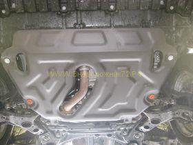 Защита Картера V 2.5 (Сталь 2 мм) для Toyota Rav 4 2013 -
