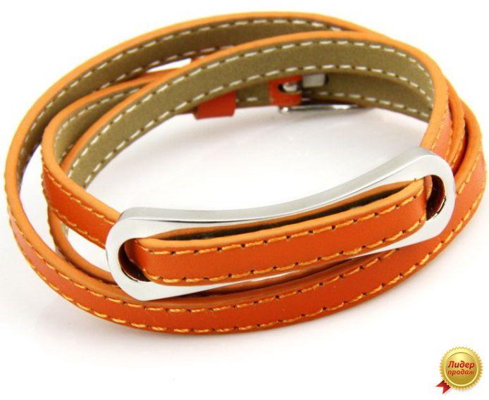 Кожаный браслет 431NT-Shir