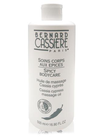Bernard Cassiere Массажное масло с кассией и кипарисом