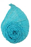 Голубой натуральный шёлковый шарф