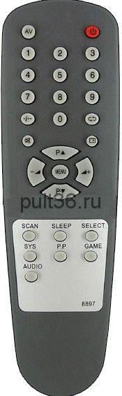 Пульт ДУ Polar 8897 29FS14 Elenberg/ Cameron/ General 29FS14/ 8897/ 7BJ9-1043 / RS09-8831A