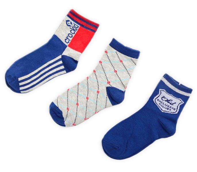 Комплект носков для мальчика Crockid