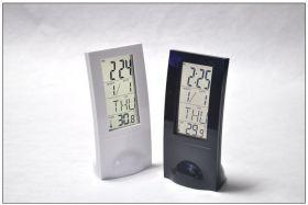 Настольные часы-темометр Glass Clock