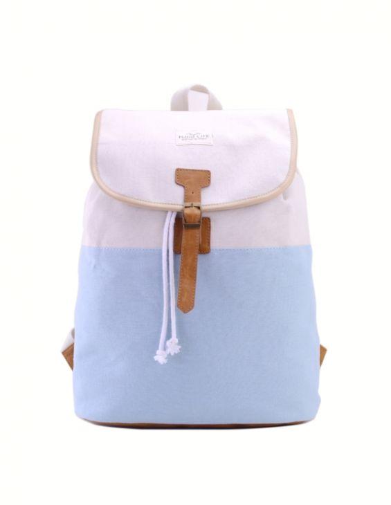 """Женский рюкзак """"Fluid Life"""" Голубой"""