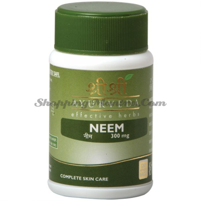 Ним для здоровья кожи Шри Шри Аюрведа (Sri Sri Ayurveda Neem)