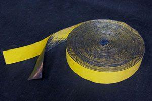 Лента битумная-М - металлизированная самоклеящаяся (0,035 х 15 м)