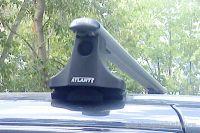Багажник на крышу Suzuki Swift, Атлант, аэродинамические дуги