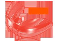 Преортодонтический трейнер для детей (TrainerforKids™  или T4K®) 6-10 лет (жесткий розовый)