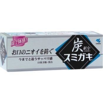 071861 Паста зубная отбеливающая и полирующая с углем и мятными травами, 100 гр