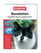 Beaphar Renaletten Кормовая добавка для кошек с почечными проблемами (75 табл.)