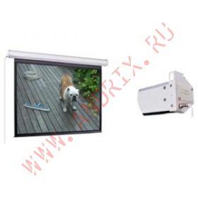 Экран с электроприводом Classic Solution Premier Taurus 498х498 см (4:3) extra drop