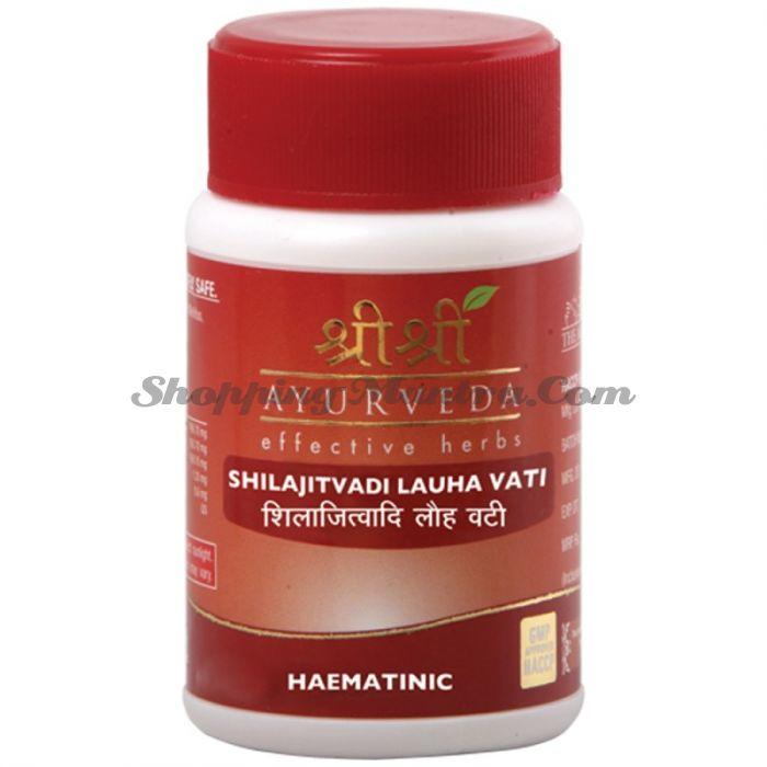 Шиладжитвади Лоха для повышения гемоглобина Шри Шри Аюрведа (Sri Sri Shilajitvadi Lauha)
