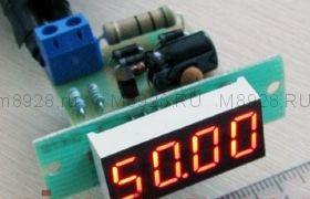 Электронный частотомер сети 50гц