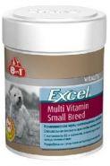 8 in 1 Excel Multi Vit Small Breed мультивитамины для собак мелких пород (70 табл.)