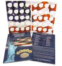 Альбом-планшет для хранения памятных однадолларовых монет серии президенты США
