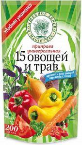"""ВД ДОЙ-ПАК Приправа универсальная """"15 овощей и трав"""" 200 г"""