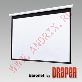 "Экран с электроприводом Draper Baronet 70/70"" 178x178 MW (1:1)"
