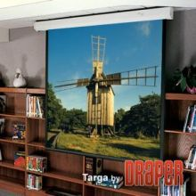 "Экран с электроприводом Draper Targa 381/150"" 221x295 MW (3:4)"