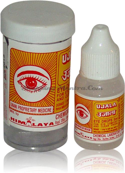 Капли для глаз Уджала (Himalaya Pharmacy Ujala Eye Drops)