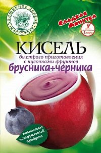 """ВД Кисель быстрого приготовления """"Брусника + Черника"""""""