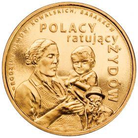 Поляки,спасающие евреев 2 злотых 2012