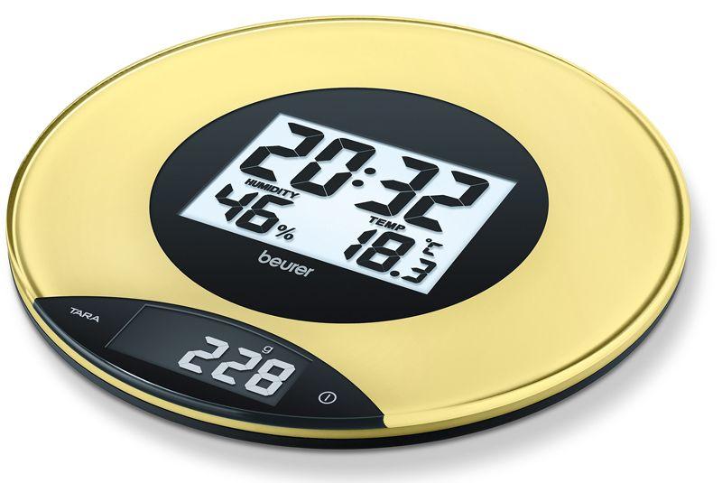 Весы кухонные Beurer KS49 (yellow)