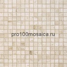 TRAVERTINE CLASSIC Tum. 15x15. Мозаика серия STONE, размер, мм: 305*305*4 (ORRO Mosaic)