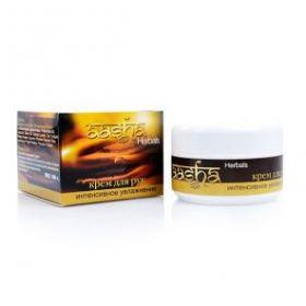 Крем для рук интенсивное увлажнение Aasha Herbals 100 г