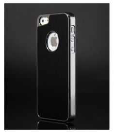 Чехол для iPHONE 5 New style Metal черный