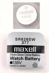 Батарейка MAXELL 377