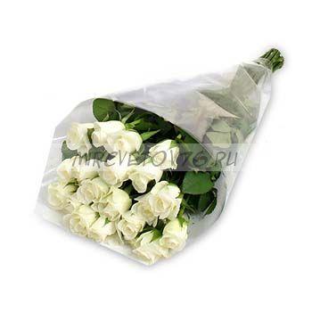 """Букет """" 17 белых роз"""""""