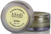 Khadi Herbal Lychee Lip Balm