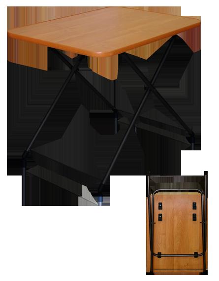 """Стол туриста """"Ника"""" (75*50 см) выс.50 (62) см  ТСТ"""