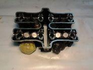 головка блока передних цилиндров в сборе, клапаны, толкатели, одна свечка  Yamaha  VMX1200 Vmax