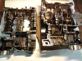 картер двигателя с коренными вкладышами  Yamaha  VMX1200 Vmax