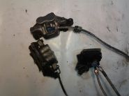 тормозной контур передний в сборе (суппорты, кронтштейны, колодки, главный цилиндр, выключатель стоп-сигнала, армированные шланги)  Yamaha  XJR400
