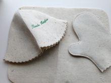 Комплект №1 (шапка,рукавица,коврик)